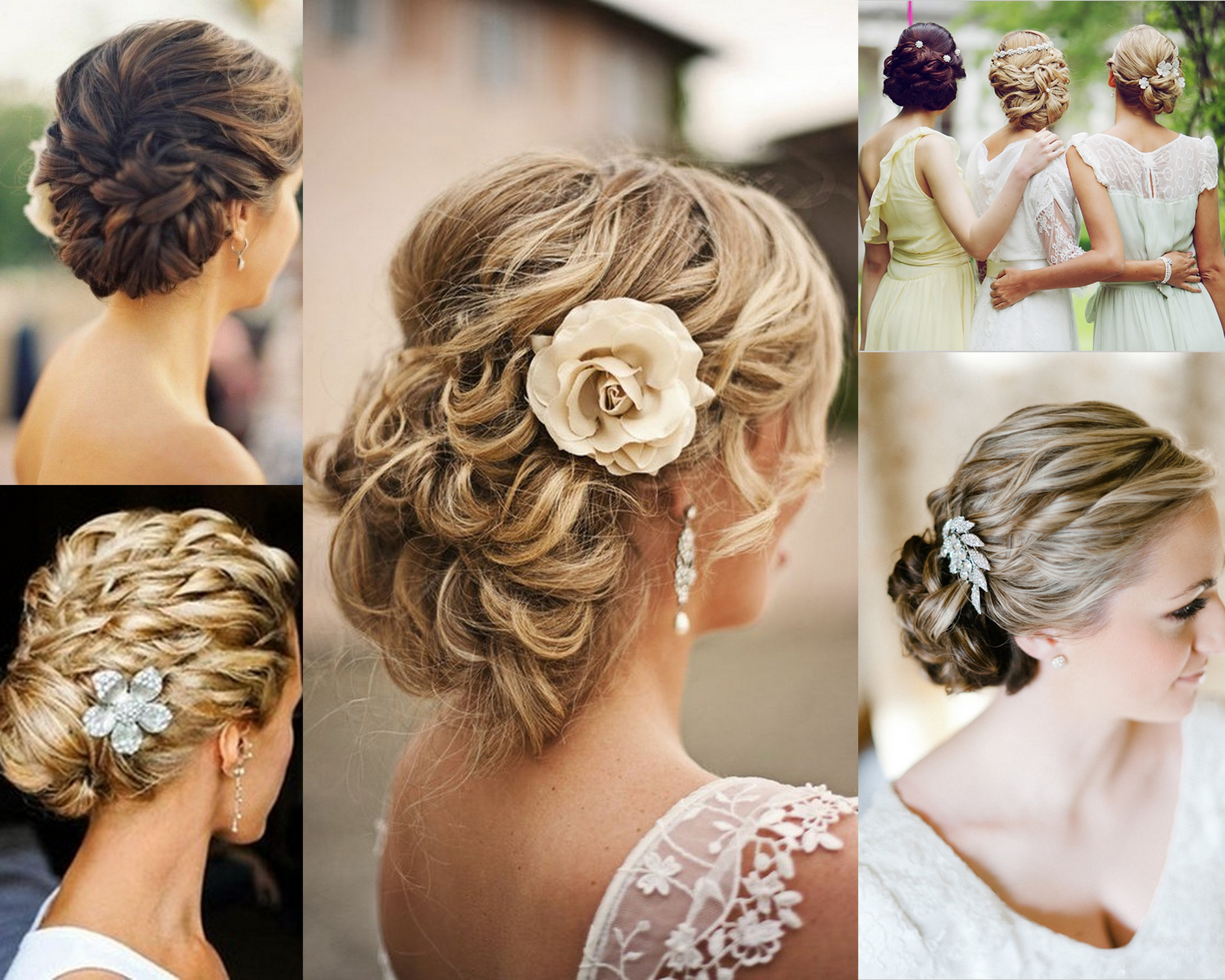 wedding hair stye