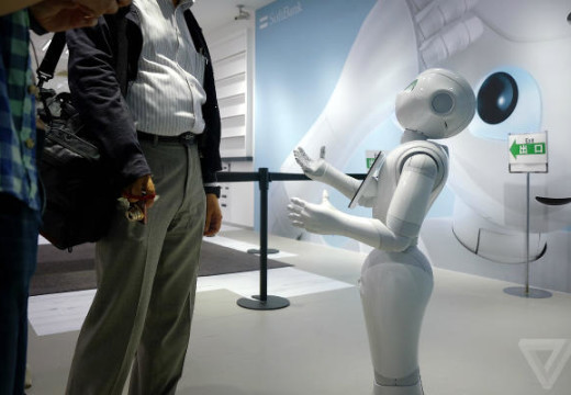 Meet Pepper, The Robot That Reads Your Emotions