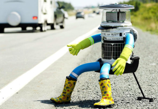 Meet Hitchbot: The Canadian Robot That is Adding Flair to Artificial Intelligence